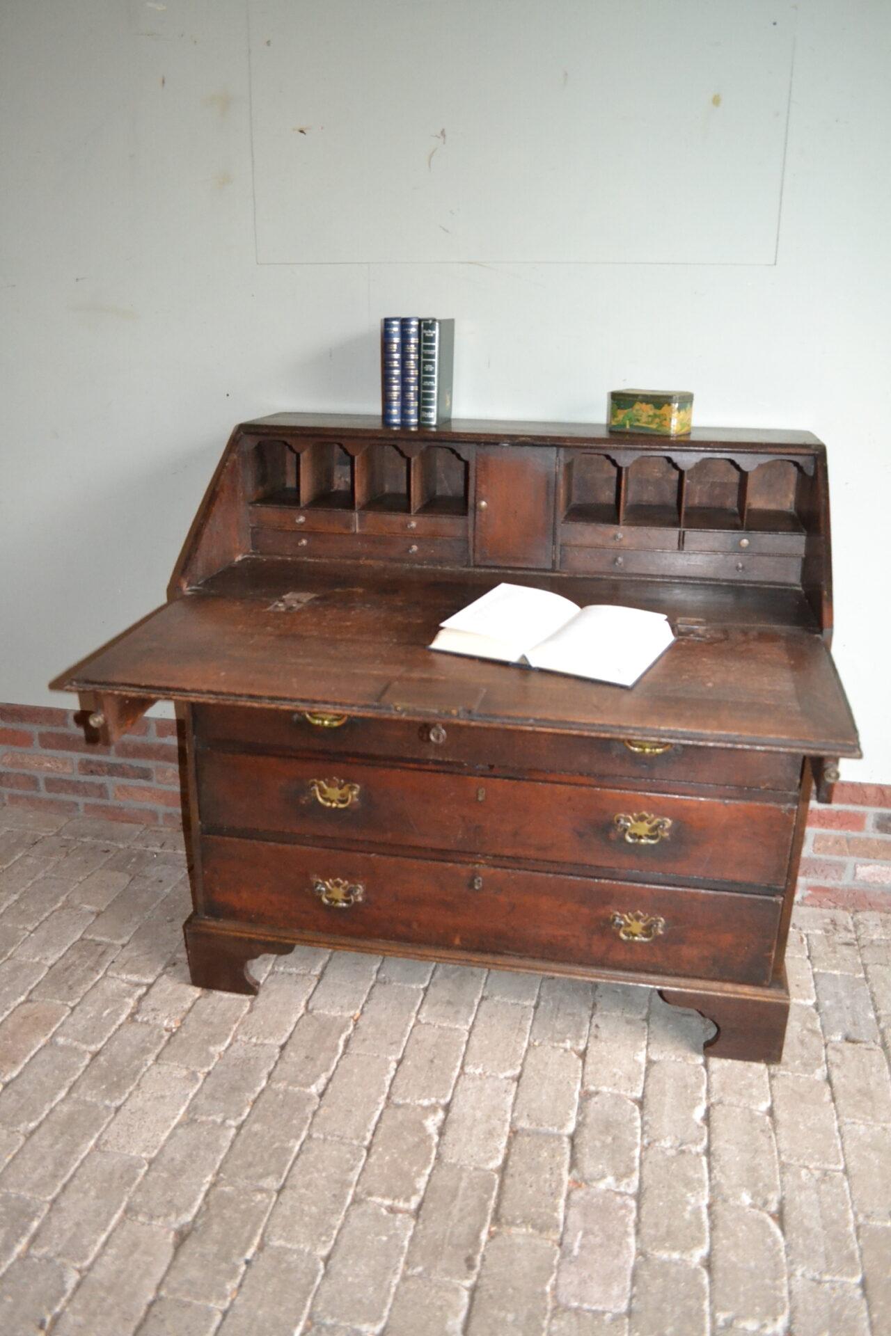antieke secretaire, antiek bureau, antiek buro