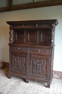 antieke buffetkast, antiek cupboard