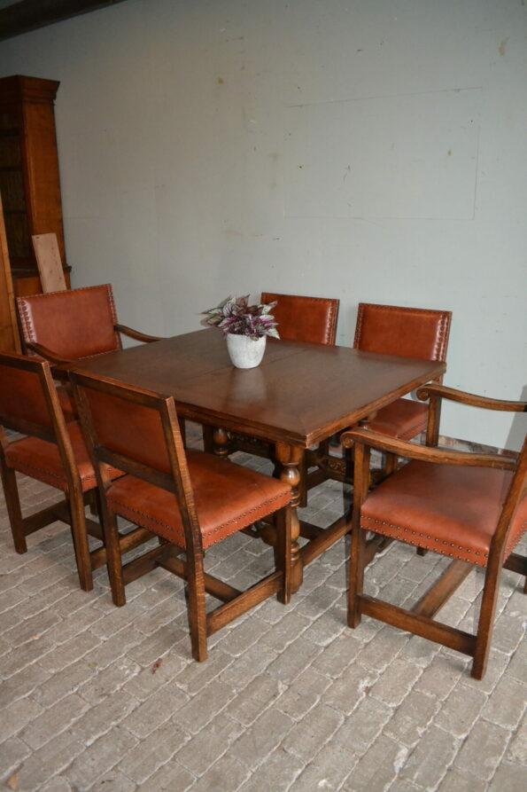 antieke eettafel, antieke eethoek, antieke vergadertafel, antiek bureau, antiek buro