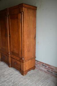 antieke linnenkast, antieke kledingkast
