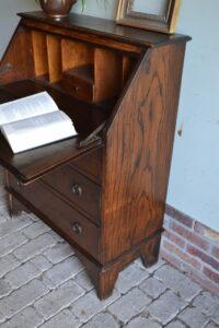 antieke secretaire, antiek bureau, antiek buro, antieke ladekast