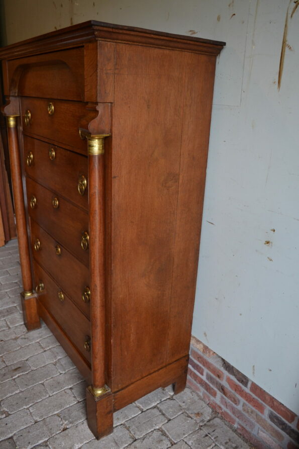 antieke chiffoniere, ladekast, ladenkast