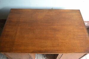 antieke partnerdesk, antiek bureau, antiek buro, antieke schrijftafel.