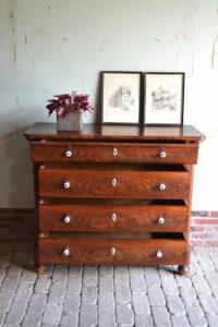 antiek dressoir, antieke commode, antieke tv kast, antieke ladekast